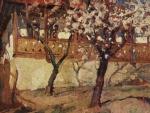 Aurel Băeşu - Casa cu meri infloriti