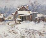 Aurel Băeşu - Casa de mahala in Iasi