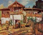 Aurel Băeşu - Casa taraneasca