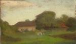 Aurel Băeşu - Case la marginea satului
