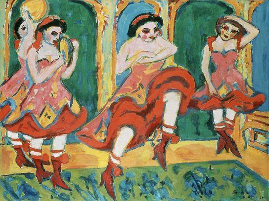 Ernst Ludwig Kirchner - Czardastänzerinnen