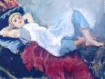 Iosif Iser - Femeia pe sofa