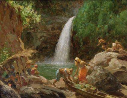 Fernando Amorsolo - Pagsanhan Falls