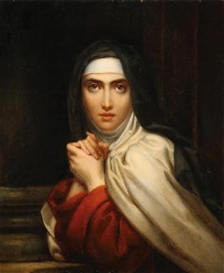 François Gérard - Teresa of Ávila