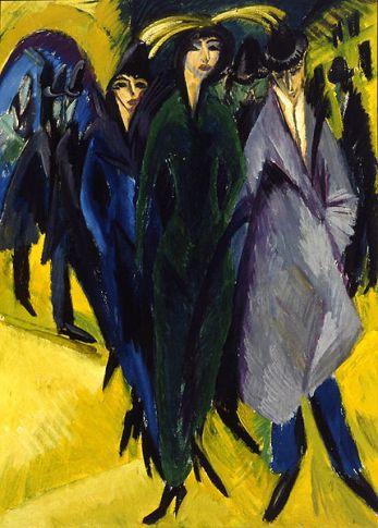 Ernst Ludwig Kirchner - Frauen auf der Straße