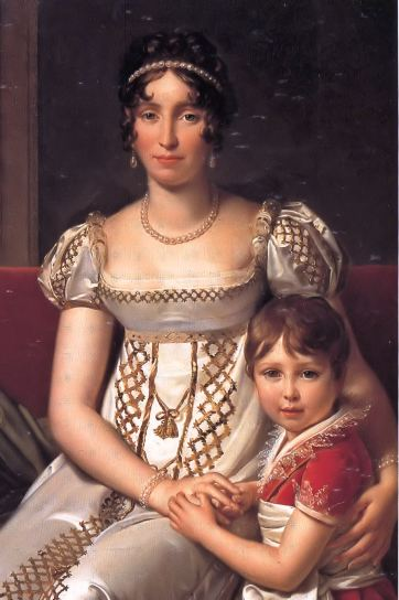 François Gérard - Hortense de Beauharnais with her son Napoleon Charles Bonaparte