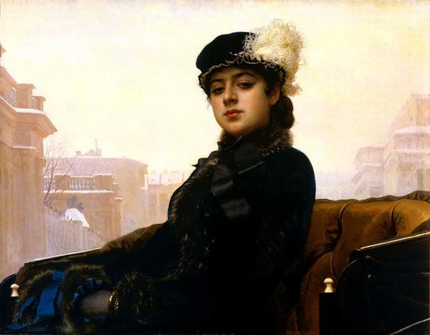 Ivan Kramskoi - Portrait of an unknown woman