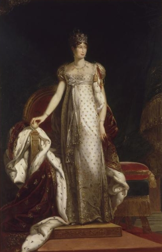 François Gérard - Marie Louise of Austria, Empress of French