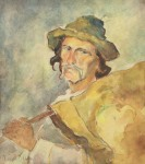 Aurel Băeşu - Mos Simion - plutasul din Hangu