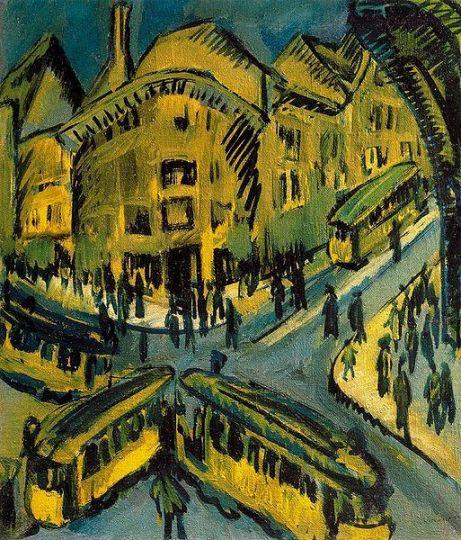 Ernst Ludwig Kirchner - Nollendorfplatz