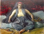 Iosif Iser - Odaliscă