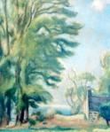 Iosif Iser - Peisaj din Franţa