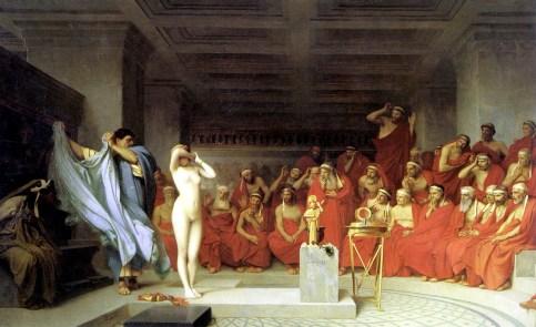 Jean-Léon Gérôme - Phryne before the Areopagus