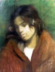 Aurel Băeşu - Portret de fata