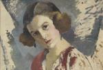 Aurel Băeşu - Portret de femeie