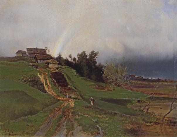 Alexei Kondratyevich Savrasov - Rainbow
