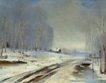 Alexei Kondratyevich Savrasov - Rasputitsa (Sea of Mud, 1894)
