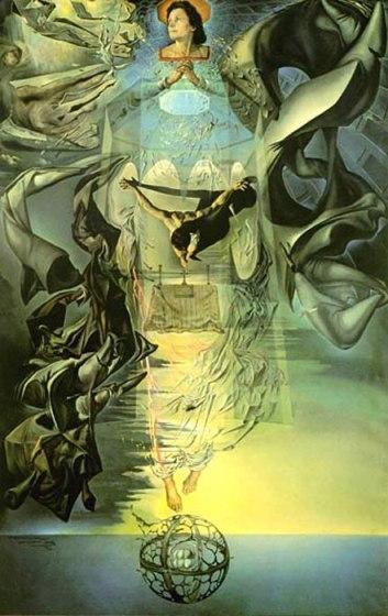 Salvador Dalí - Asummpta Corpuscularia Lapislazulina
