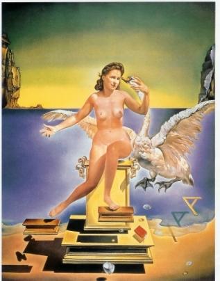 Salvador Dalí - Leda Atomica