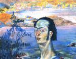 Salvador Dalí - Self-Portrait with Raphaelesque Neck