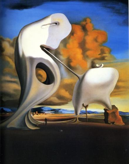 Salvador Dalí - The Architectonic Angelus of Millet