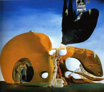 Salvador Dalí - The Birth of Liquid Desires