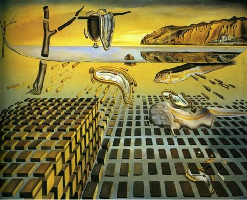 Salvador Dalí - The Disintegration of the Persistence of Memory