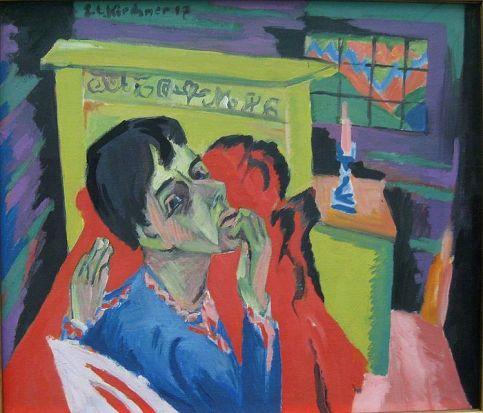 Ernst Ludwig Kirchner - Self-portrait