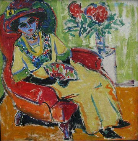 Ernst Ludwig Kirchner - Sitting Woman