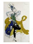Léon Bakst - Sketch For the Ballet La Peri