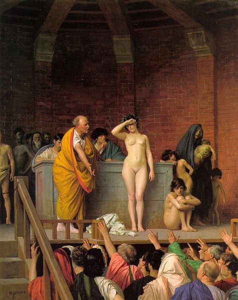 Jean-Léon Gérôme - Slave Auction