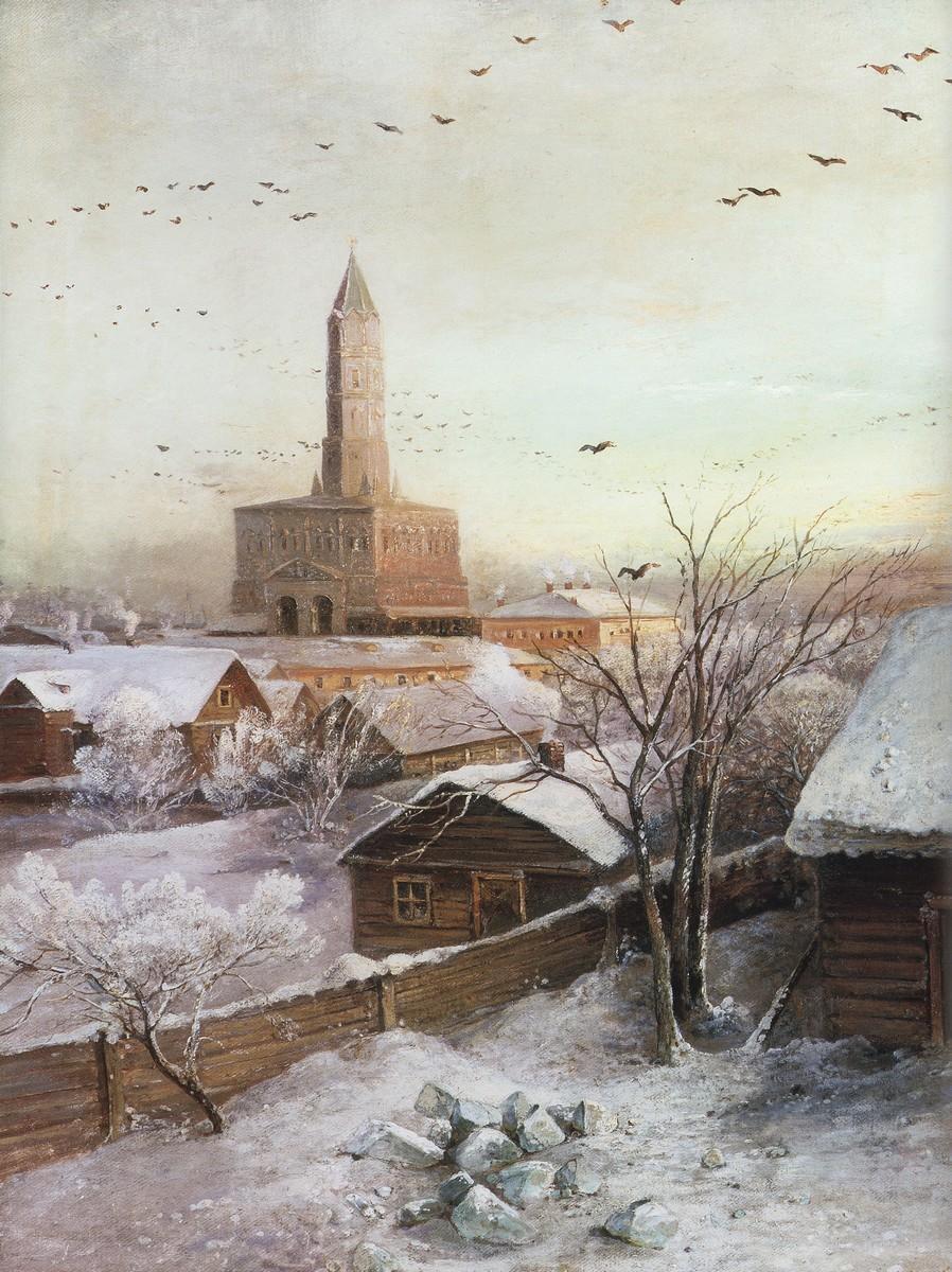 Alexei Kondratyevich Savrasov - Sukharev Tower