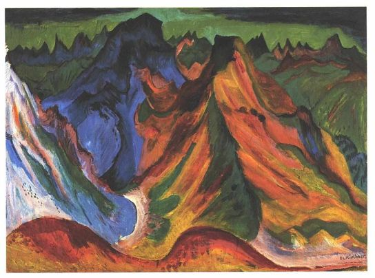 Ernst Ludwig Kirchner - The mountain