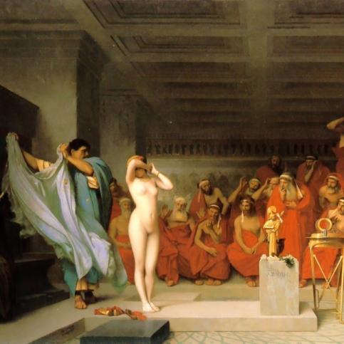 Jean-Léon Gérôme - Traite d'esclave dans l'Empire Romain