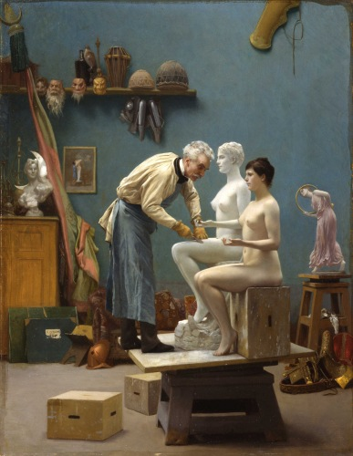 Jean-Léon Gérôme - Working in Marble