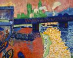 André Derain-Charing Cross Bridge, London