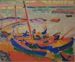 Andre Derain - Fishing Boats at Collioure