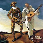 Andre Derain - Harlequin and Pierrot