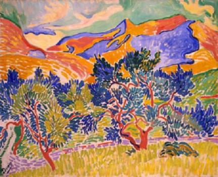 Andre Derain - Mountains at Collioure