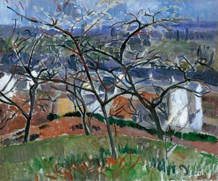 André Derain- Paysage à Chatou