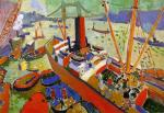 Andre Derain - The Pool of London
