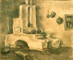 Ştefan Luchian - Bucătărie călugărească