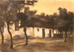 Ştefan Luchian - Case la Brebu (Casa lui Moş Gheorghe)