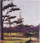 Winston Churchill - Cedar in the Garden at Breccles