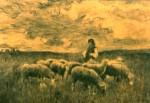 Ştefan Luchian - Cioban cu oi