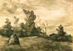 Ştefan Luchian - Clăi şi pomi