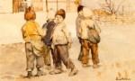 Ştefan Luchian - Copii de şcoală