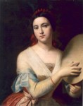 Femeie cu tamburină