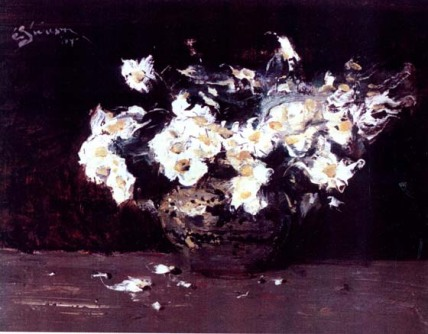Eustațiu Stoenescu - Flori albe