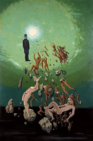 Victor Brauner - Hypergenesse de la Reapparition